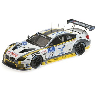 Minichamps BMW M6 GT3 - 2016 Nurburgring 24 Hours - #22 1:43