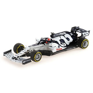 Minichamps AlphaTauri AT01 - 2020 Italian Grand Prix - #26 D. Kvyat 1:43