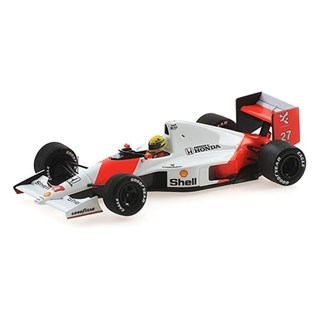 Minichamps McLaren MP4/5B - 1st 1990 Japanese Grand Prix - #27 A. Senna 1:43