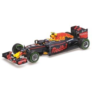 Minichamps Red Bull Racing RB12 - 3rd 2016 Brazilian Grand Prix - #33 M. Verstappen 1:18