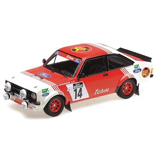 Minichamps Ford Escort RS1800 - 1983 Haspengouwrally - #14 R. Droogmans 1:18