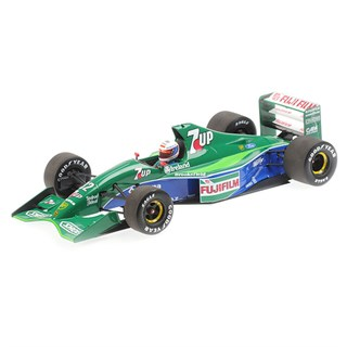 Minichamps Jordan 191 - 1991 British Grand Prix - #32 B. Gachot 1:18