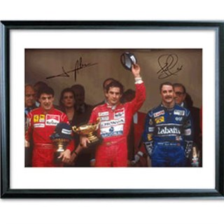 Signed 'Monaco Greats' photo