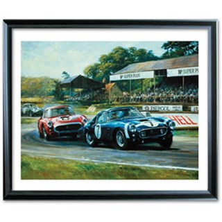 Goodwood Victory print signed