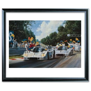 Silver Arrows print signed