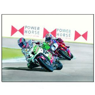 Signed Colin Edwards Print