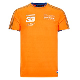 Aston Martin Red Bull Racing 2020 Max Verstappen T-shirt  in orange