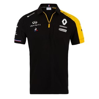 Renault F1 Team 2019 polo shirt in black