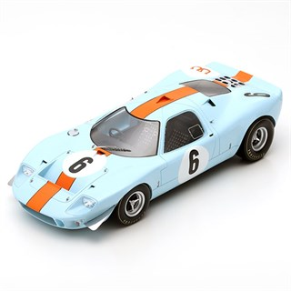 Spark Ford Mirage - 1st 1967 Spa 1000 Km - #6 1:18