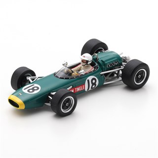 Spark LDS Mk3 - 1967 South African Grand Prix - #18 S. Tingle 1:43