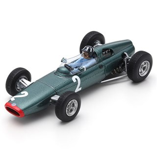 Spark BRM P61 - 1963 French Grand Prix - #2 G. Hill 1:43