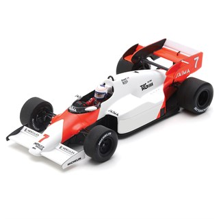 Spark McLaren MP4/2 - 1st 1984 German Grand Prix - #7 A. Prost 1:43