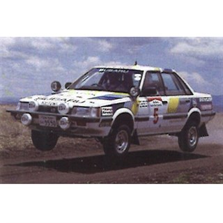 Spark Subaru RX Turbo - 1986 Safari Rally - #5 M. Kirkland 1:43