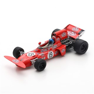 Spark March 711 - 1971 Canadian Grand Prix - #19 M. Beuttler 1:43