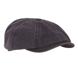 Stetson Hatteras Cotton Cap 2 in navy L
