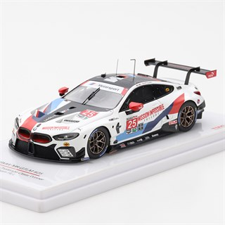 TrueScale Miniatures BMW M8 GTLM - 1st 2018 Virginia IMSA - #25 1:43