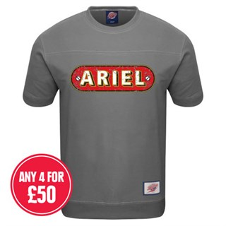 Retro Legends Classic Ariel T-sweat in grey