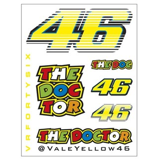 Rossi Sticker Set small