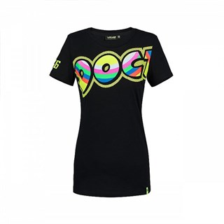 Rossi 2018 The Doctor ladies T-shirt in black
