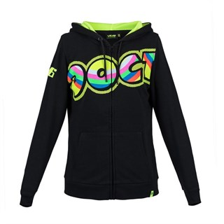 Rossi 2018 The Doctor ladies hoodie in black