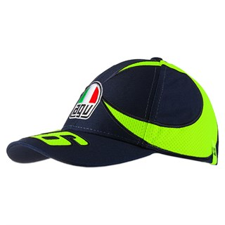 Valentino Rossi VR46 2020 kids Sun and Moon Helmet cap