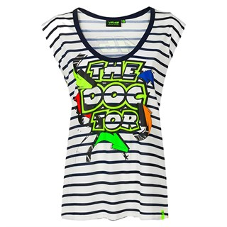 Valentino Rossi VR46 2020 ladies Street Art T-shirt in blue S