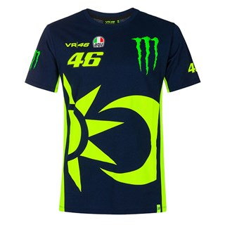 Valentino Rossi VR46 2020 Monster Sun and Moon T-shirt L