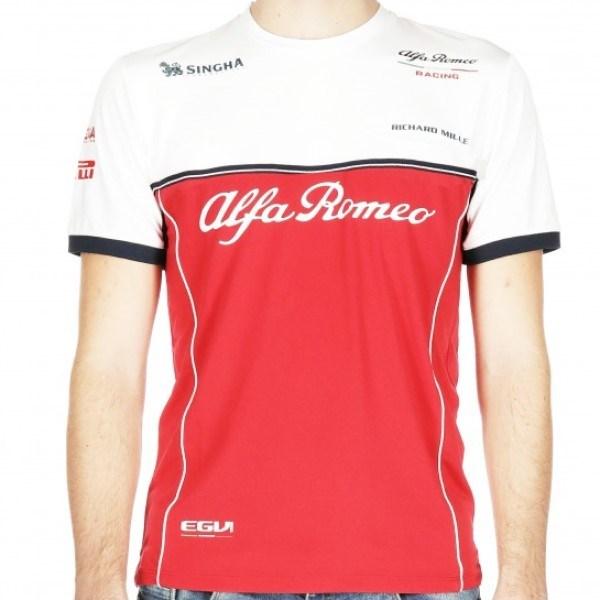 myyntipiste myytävänä kuuma myynti verkossa monia tyylejä Alfa Romeo Racing 2019 Team T-shirt