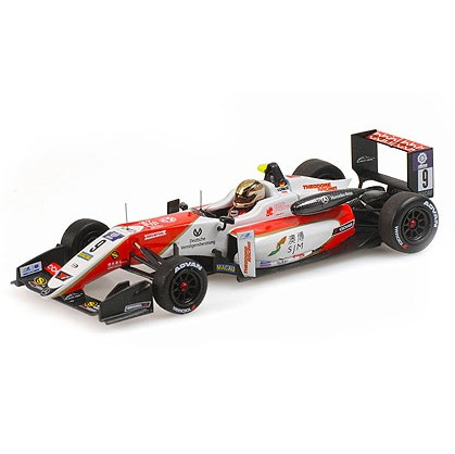 Mick Schumacher Escala 1//43 Minichamps Dallara F317 Macau GP 2018