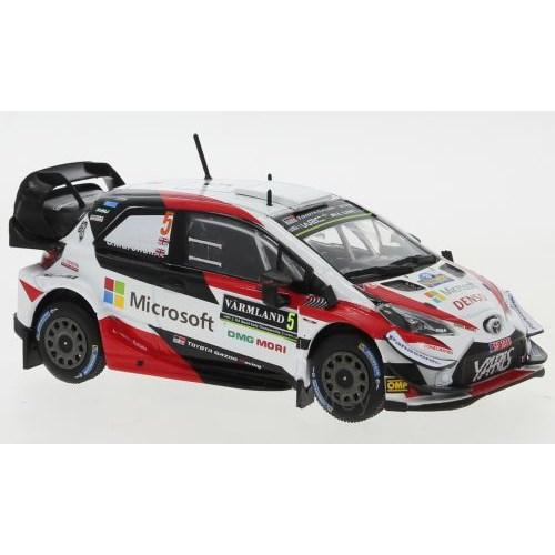 IXO IXORAM709 Toyota Yaris WRC 6eme Rallye de Suède 2019 Meeke 1//43