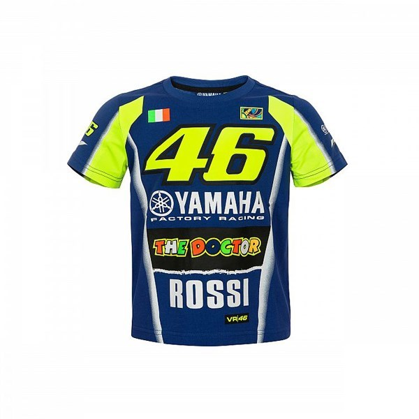 Valentino Rossi VR46 Moto GP Lifestyle Sun /& Moon T-shirt Grey Official 2019