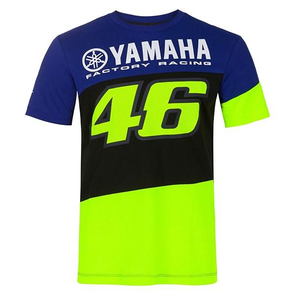 VR|46 Valentino Rossi Damen T-Shirt MotoGP 2018 The Doctor 46 Streifendesign
